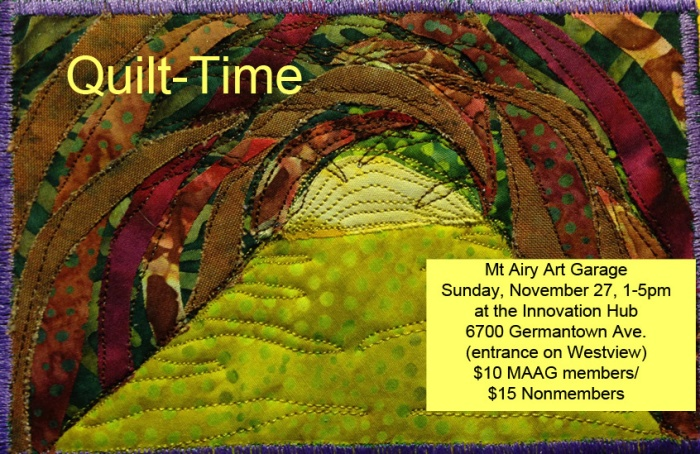 Quilt-Time postcard