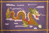 "Tamre's Dragon, 50"" x 70"", Philadelphia © 2006, commission."