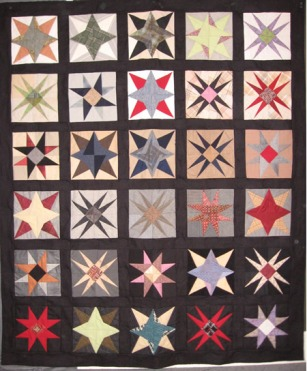 "Lagola Stars and Spirals,76"" x 91"", Philadelphia ©2008."