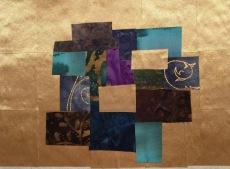 """Abstract Rimpa, 8"""" x 10"""", 2015."""