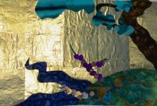 """Landscape #1, 8"""" x 10"""", 2015."""