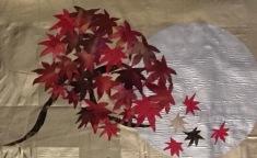 Four Seasons, detail of maple tree