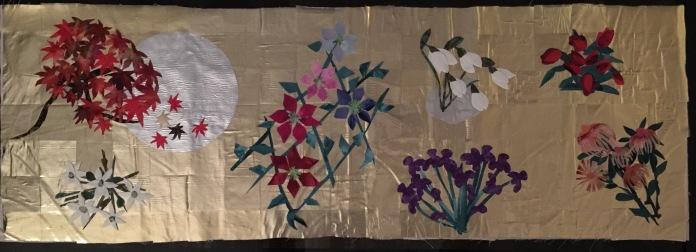 "Four Seasons, 12"" x 36"", 2016"