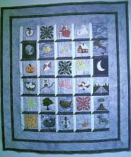 """New Alphabet, 45.5"""" X 52"""", Philadelphia ©2001."""