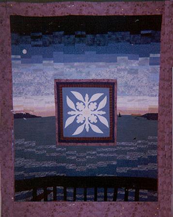"""Redondo Promise, 63"""" x 88"""", Philadelphia, ©2000."""